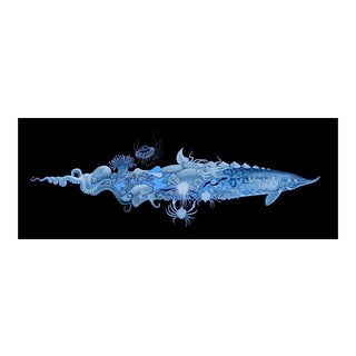 Blue Sturgeon Giclee Print For Sale
