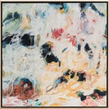 "Image of Laurie MacMillan ""Summer Stroll"" Abstract Painting For Sale"