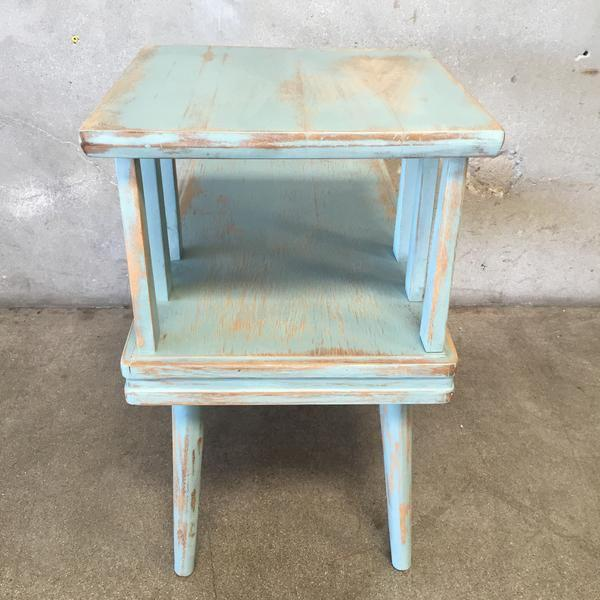 Upcycled Mid Century Side Table - Image 7 of 7