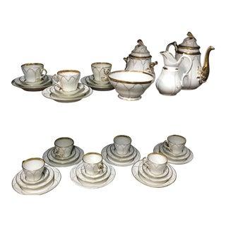 Vintage Paris Porcelain Set - Set of 45