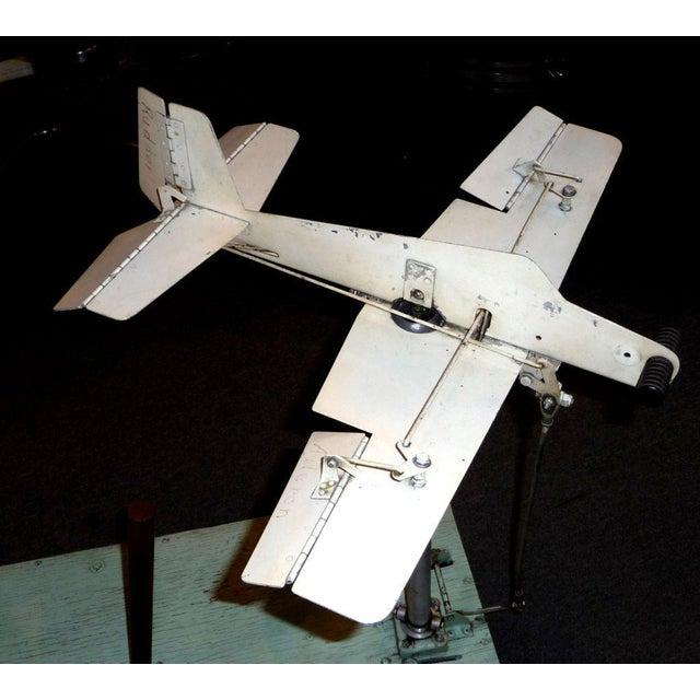 Mid-Century Modern 1930's Mechanical Flight Simulator For Sale - Image 3 of 10