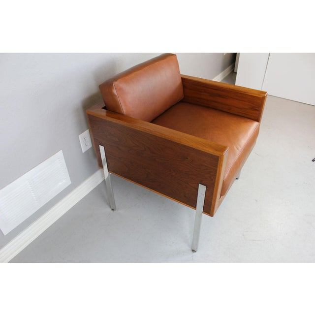 """Harvey Probber Architectural Series """"Cube"""" Chair For Sale - Image 7 of 9"""
