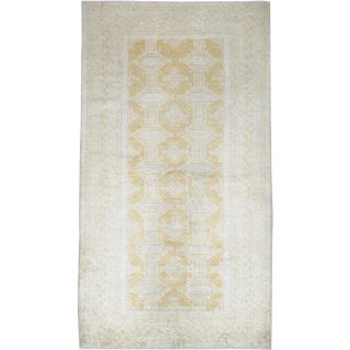 """Vintage Turkish Sivas Carpet - Size: 3' 6"""" X 6' 4"""" For Sale"""