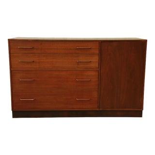 Edward Wormley for Dunbar Walnut Sideboard Credenza For Sale