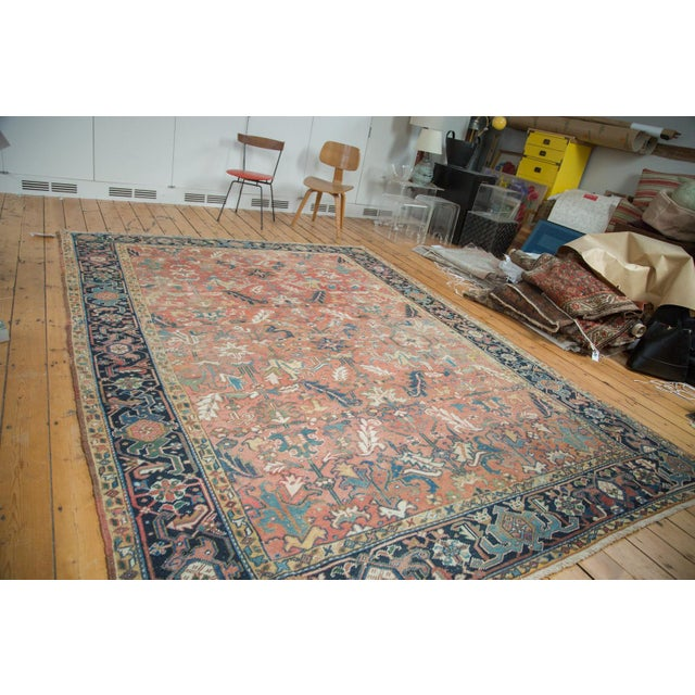 "Vintage Heriz Carpet - 8'3"" X 11'3"" - Image 2 of 10"