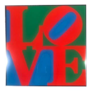 "1967 Screen Print ""Love"" by Robert Indiana For Sale"