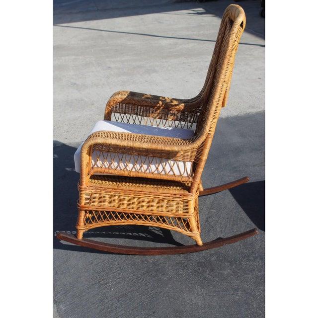 Super Ralph Lauren Rocking Chair Foot Stool Squirreltailoven Fun Painted Chair Ideas Images Squirreltailovenorg