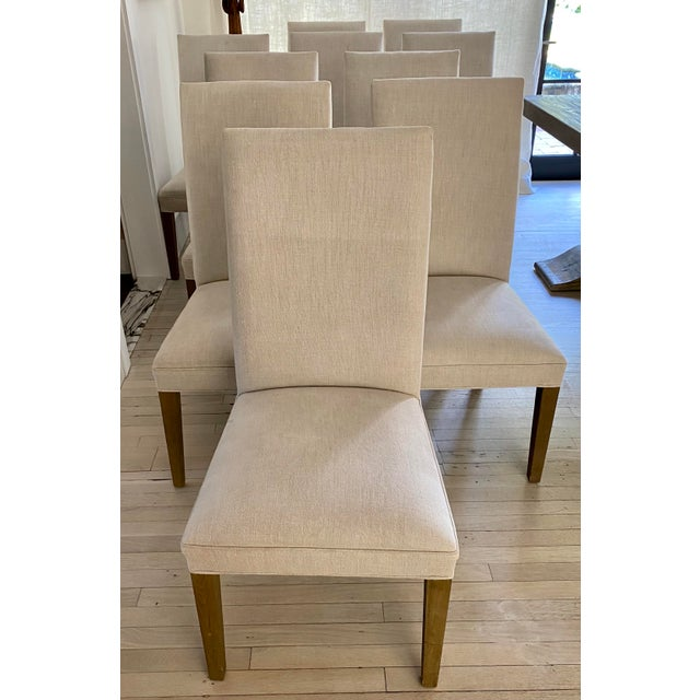 Restoration Hardware Hudson Chairs, S/10 For Sale - Image 9 of 9