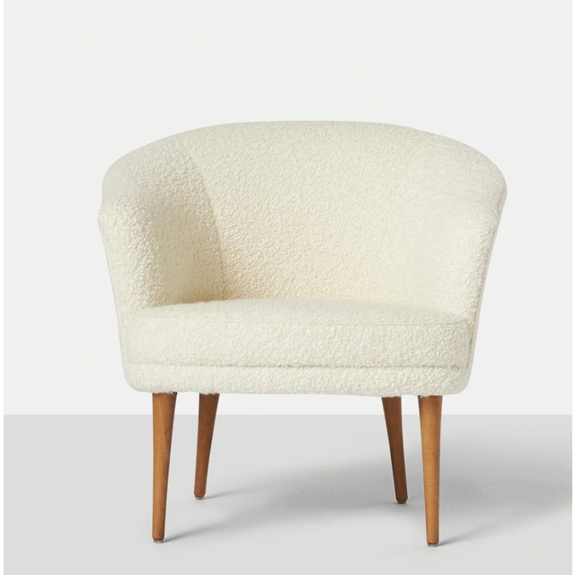 Danish Modern Pair of Chairs by Kerstin Horlin Holmquist for Nordiska Kompaniet, Ca. 1965 For Sale - Image 3 of 10