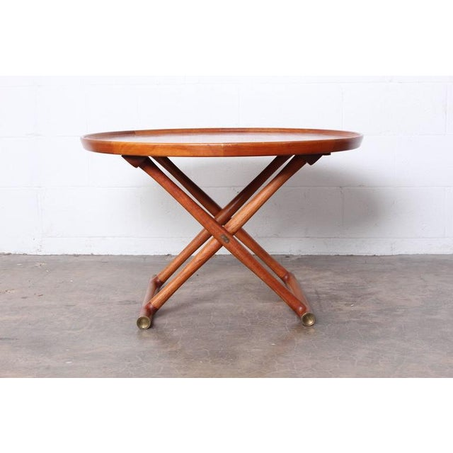 Egyptian Table by Mogens Lassen for A.J. Iversen For Sale In Dallas - Image 6 of 10