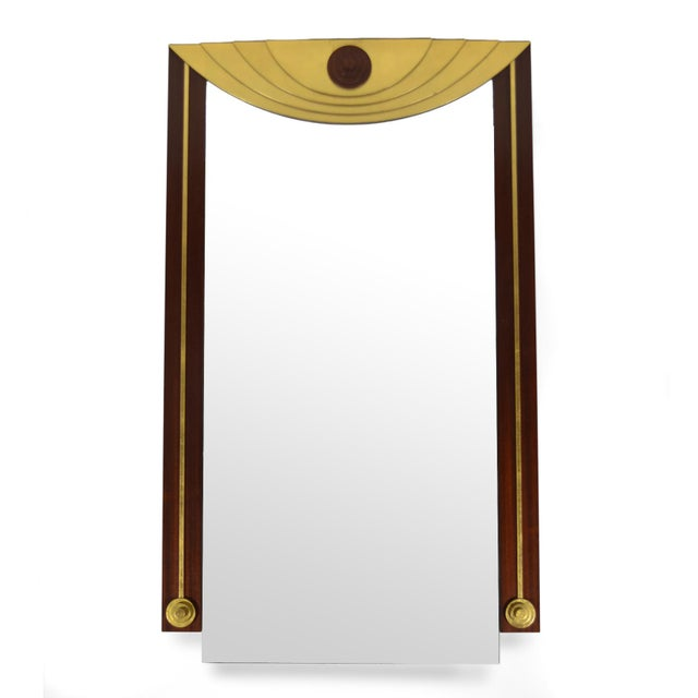 Modern Post-Modern Wall Mirror For Sale - Image 3 of 7