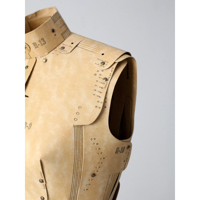Mid-Century Adjust-O-Matic Dress Form For Sale - Image 11 of 12