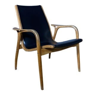 Yngve Ekström, Lamino Lounge Chair, Swedes 1960s For Sale