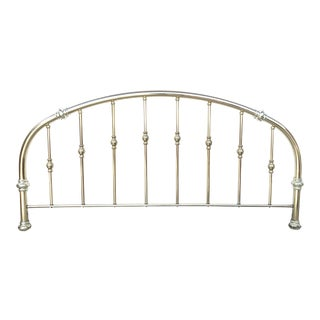 Vintage Brass Headboard For Sale