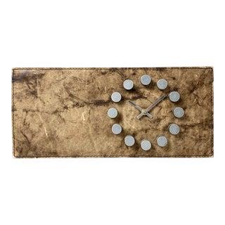 Vintage Modernist Junghans Wall Clock For Sale
