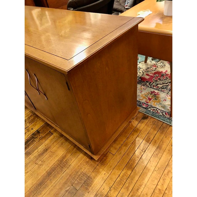 Mid Century Modern Lane Credenza 1950s For Sale - Image 9 of 13