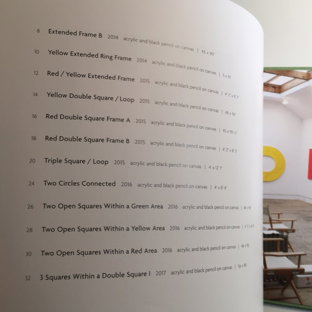 Robert Mangold Pace Gallery Coffee Table Book For Sale - Image 5 of 10