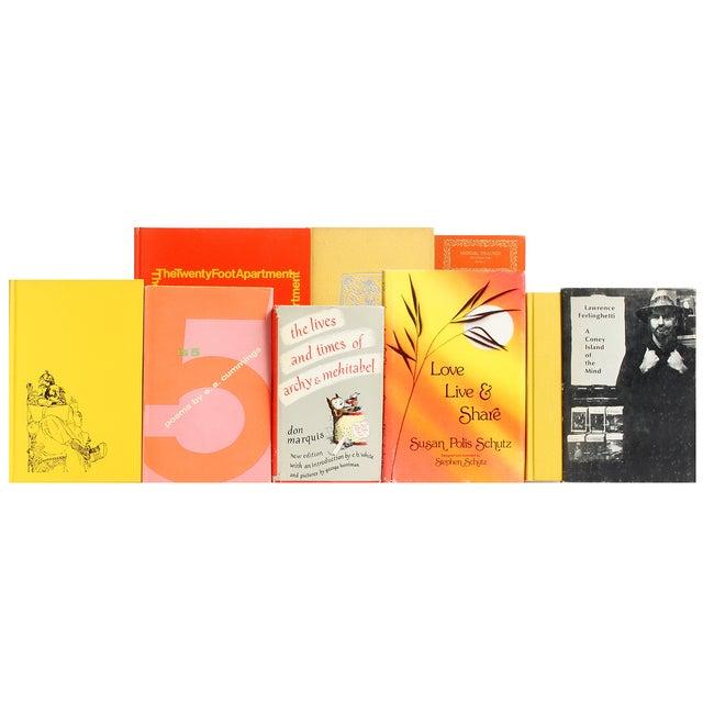 Orange & Yellow Sunrise Poetry - Set of 24 - Image 2 of 2