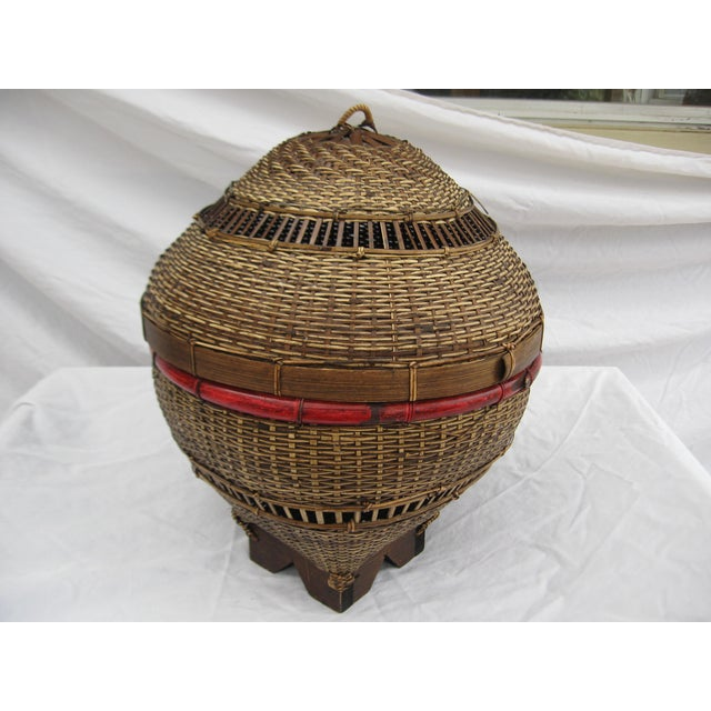 Chinese Covered Basket - Image 3 of 5