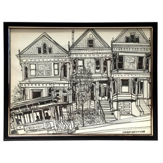 San Francisco Sketch - North Point & Hyde For Sale