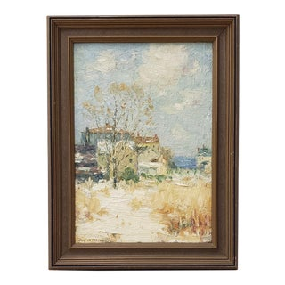 Clark Summers Marshall (1860-1944) Original Oil Painting C.1920 For Sale