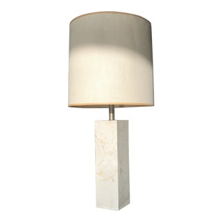 Granite Marble Taupe Table Lamp