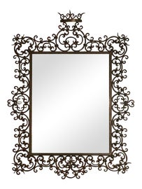 Image of Wrought Iron Wall Mirrors