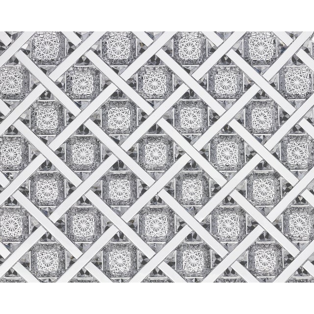 The complexity of O.F. Egginton & Co.'s prized Trellis pattern is displayed in all its glory upon this breathtaking...