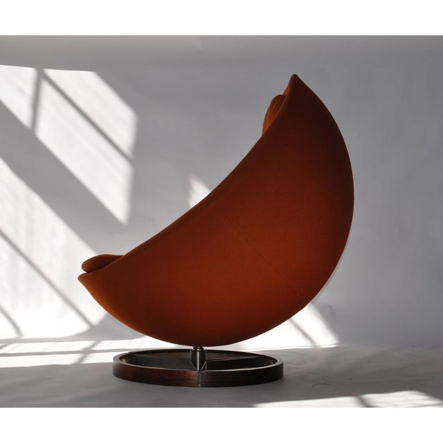 Large-Scale Scandinavian Lounge Chair - Image 3 of 8