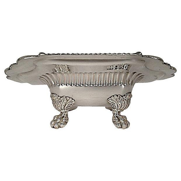 Silver-Plated Lion Footed Catchall - Image 3 of 7