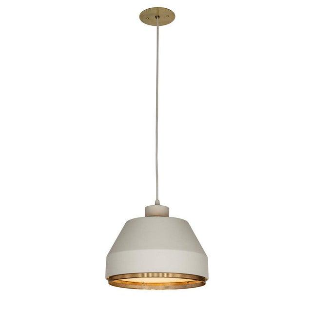 Metal 1940s Modern Aino Aalto 'Ama 500' Pendant Light For Sale - Image 7 of 13