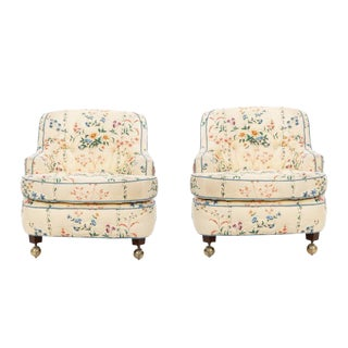 Edward Wormley Pair of Chairs For Sale