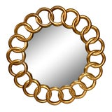 Image of Dauphine Harrison & Gil Giltwood Mirror For Sale