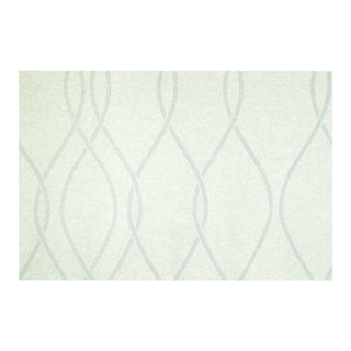 Sample, Maya Romanoff Cozy Embrace: Shearling/Grey - Woven Wool Wallcovering For Sale