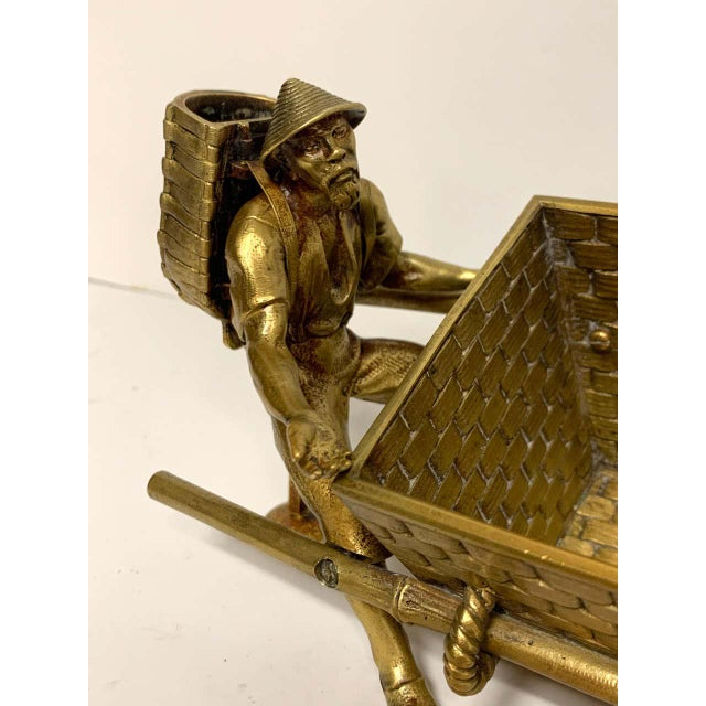 19th Century French Chinoiserie Ormolu Caddy For Sale - Image 11 of 13