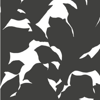 Mitchell Black Holly Jet Black Prepasted Wallpaper For Sale