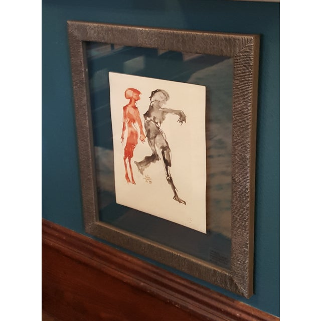 Martin Sumers Watercolor Painting - Image 2 of 5