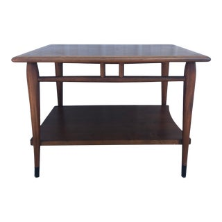 Mid Century Modern Lane Acclaim Two Tier End Table For Sale