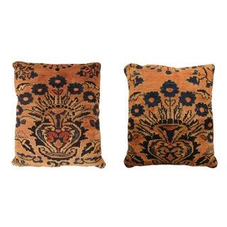"Vintage Art Deco Lilihan Pillows 1'10"" H X 1'8"" W , 1'9"" H X 1'5"" W - a Pair For Sale"