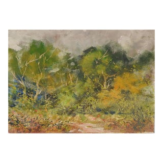 Plein Air Landscape Study Painting For Sale