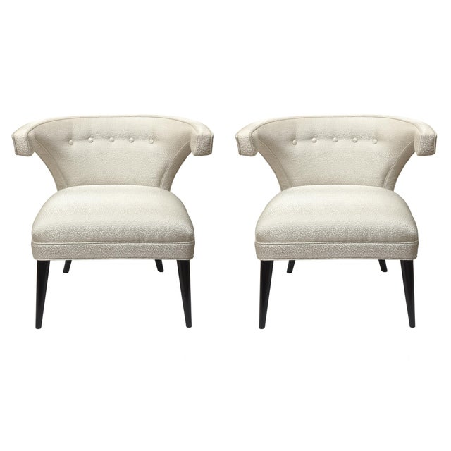 Mid-Century Modern Tommi Parzinger Side Chairs - a Pair For Sale - Image 10 of 10