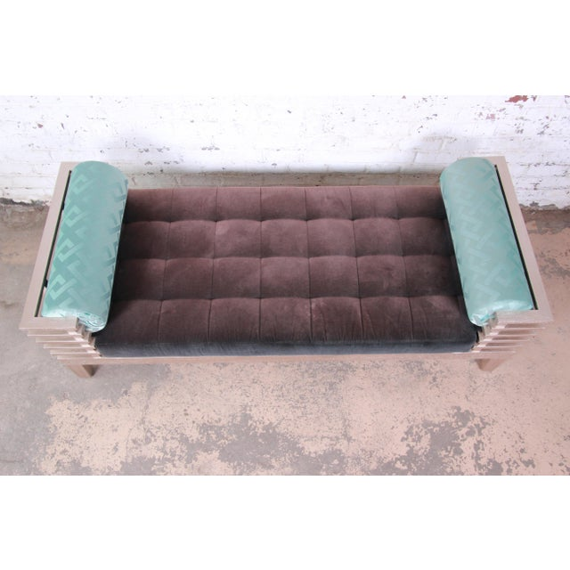"""Adriana Hoyos Modern """"Chocolate"""" Day Bed For Sale - Image 4 of 13"""