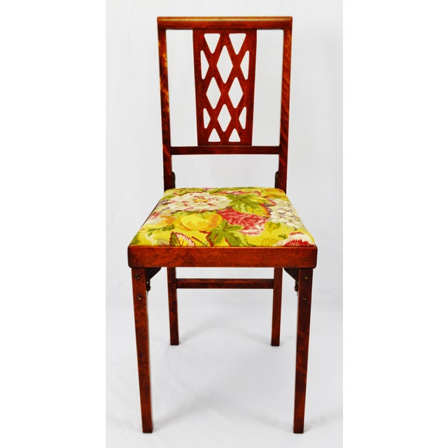 Vintage Leg O Matic Folding Chair For Sale - Image 4 of 11