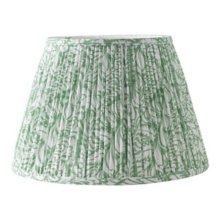 "Fern in Moss 12"" Lamp Shade, Green For Sale"