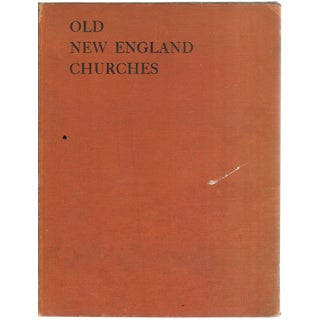 """1938 """"Old New England Churches"""" Coffee Table Book For Sale"""