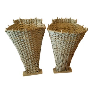Pair of Grape Harvest Baskets For Sale
