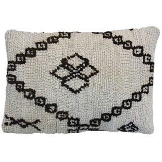 Moroccan Beni Ourain Berber Pillow For Sale