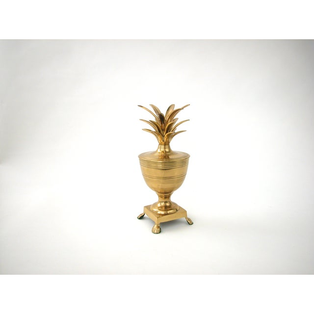 Brass Pineapple Container - Image 3 of 7