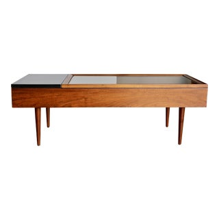 Stewart MacDougall for Glenn of California Walnut and Rosewood Coffee Table