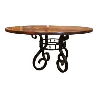 European Woodbridge Furniture Dining Table For Sale